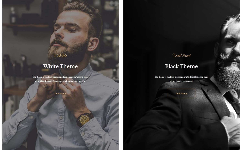 CutStyle WordPress Barber Shop Theme